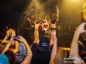 Rock Rag #16-Halestorm photo #4