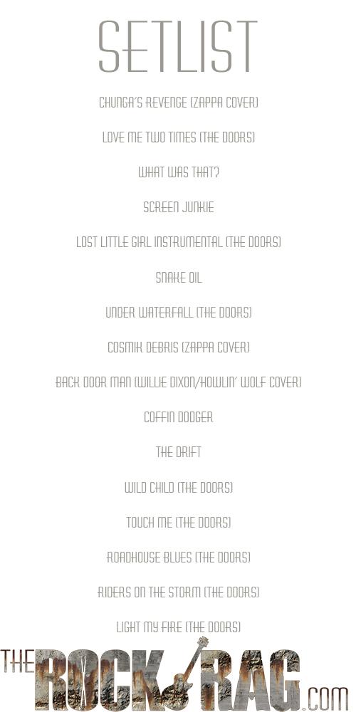 Setlist_WHISKY_50TH_KRIEGER