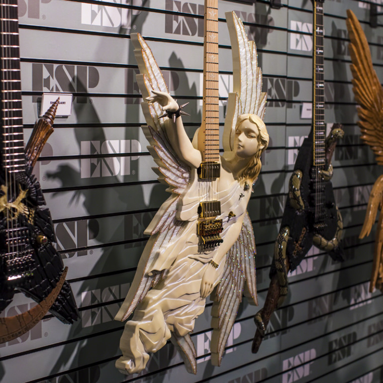 ESP Shows Off The New E-II Series – NAMM 2014